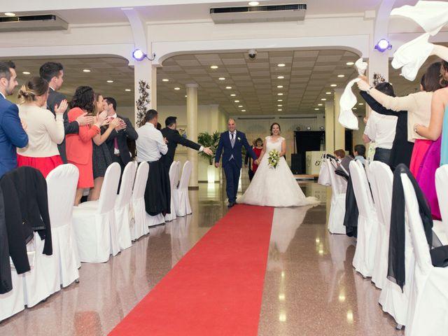 La boda de Vicente y Maria en Benigánim, Valencia 1