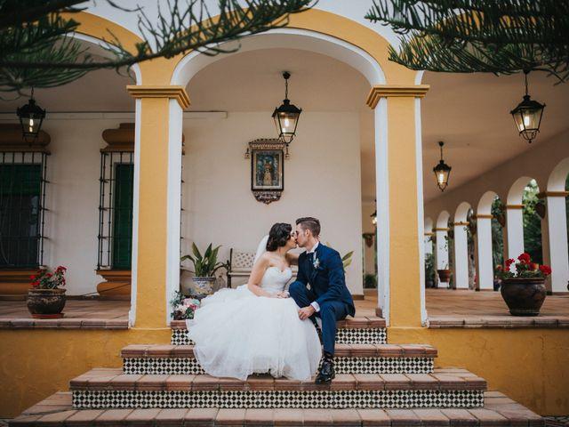 La boda de Benjamin y Rebeca en Dos Hermanas, Sevilla 92