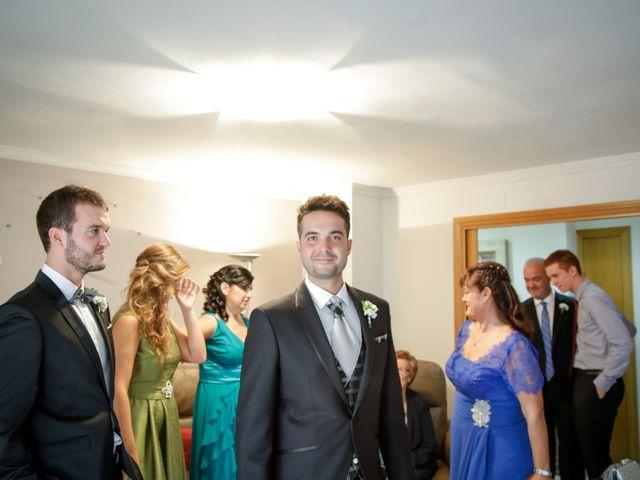 La boda de Carlos y Mireia en Sant Vicenç De Montalt, Barcelona 4