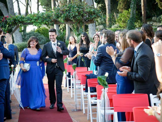 La boda de Carlos y Mireia en Sant Vicenç De Montalt, Barcelona 12