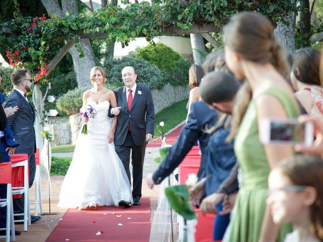 La boda de Carlos y Mireia en Sant Vicenç De Montalt, Barcelona 13