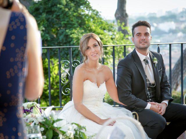 La boda de Carlos y Mireia en Sant Vicenç De Montalt, Barcelona 14