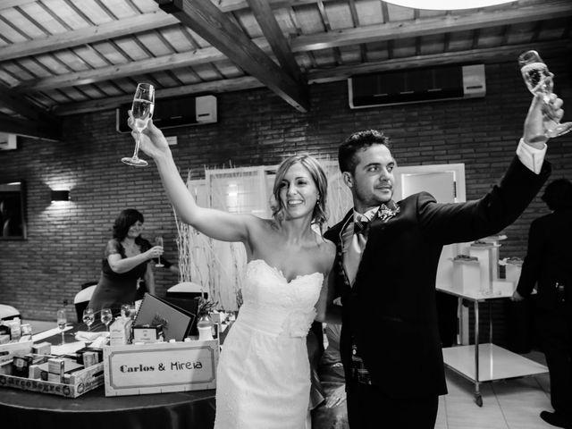 La boda de Carlos y Mireia en Sant Vicenç De Montalt, Barcelona 26