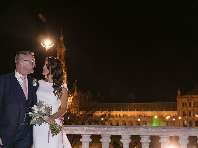 La boda de Gareth y Marta en Sevilla, Sevilla 38