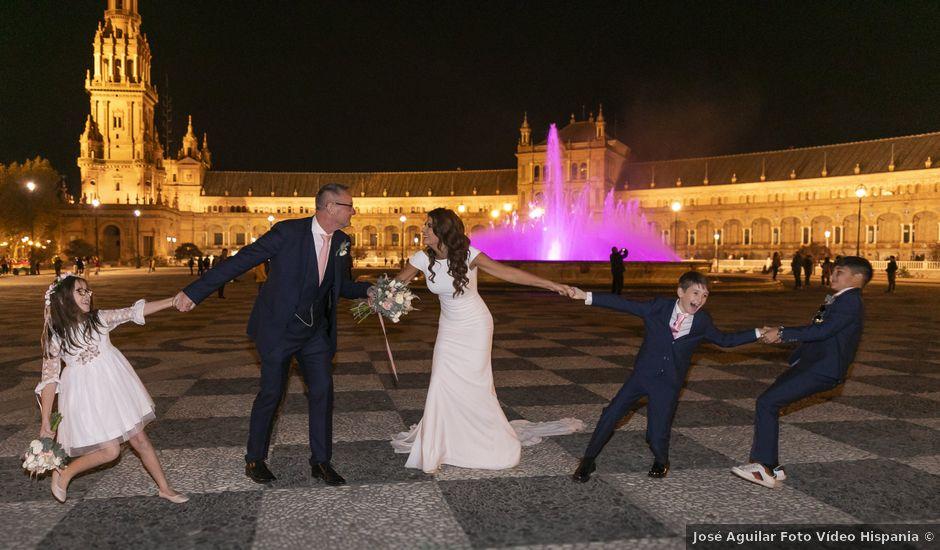 La boda de Gareth y Marta en Sevilla, Sevilla