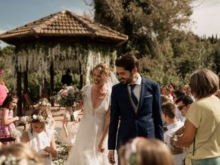 La boda de Saskia y Diego