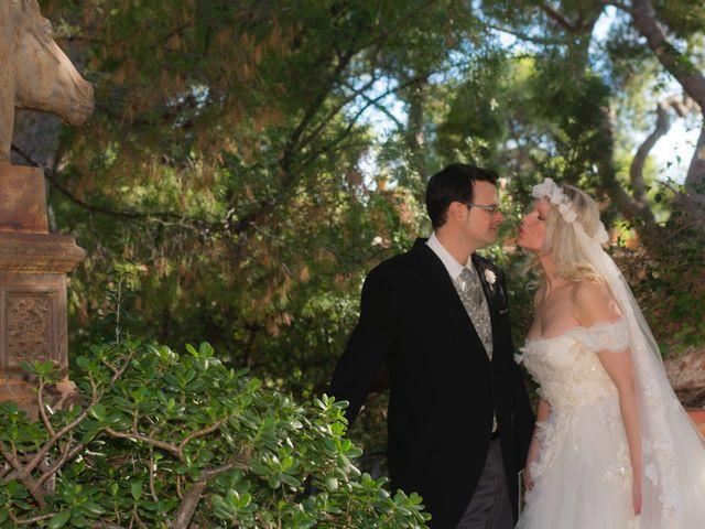 La boda de Vicente  y Giovanna  en Camarles, Tarragona 1