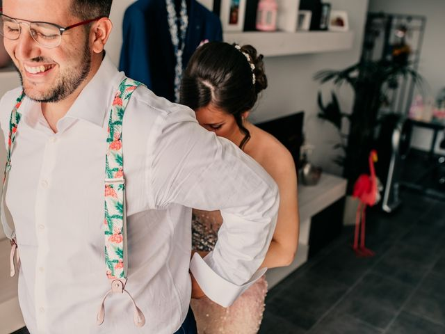La boda de Adrián y María en Ballesteros De Calatrava, Ciudad Real 12