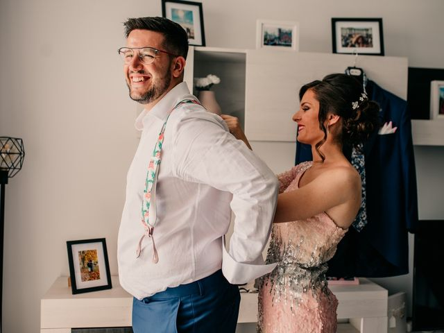 La boda de Adrián y María en Ballesteros De Calatrava, Ciudad Real 13