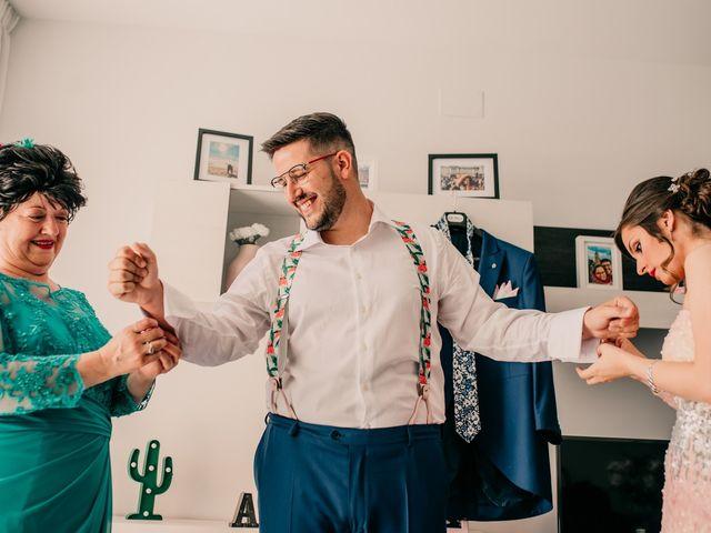 La boda de Adrián y María en Ballesteros De Calatrava, Ciudad Real 15