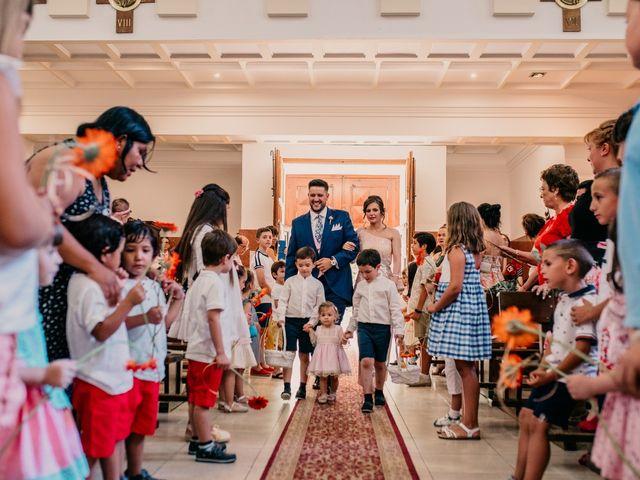 La boda de Adrián y María en Ballesteros De Calatrava, Ciudad Real 60