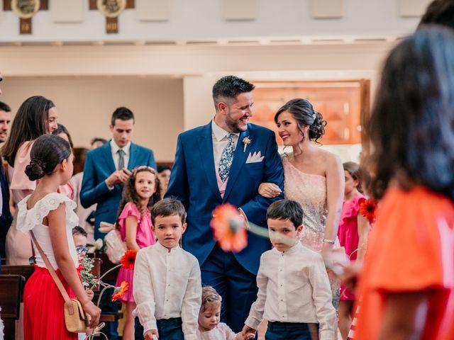 La boda de Adrián y María en Ballesteros De Calatrava, Ciudad Real 62