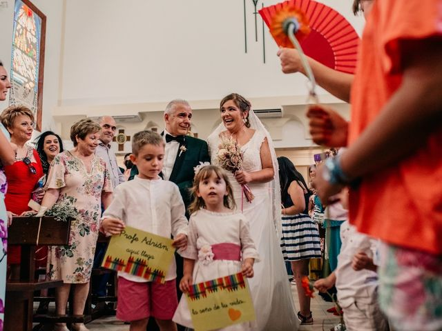 La boda de Adrián y María en Ballesteros De Calatrava, Ciudad Real 68