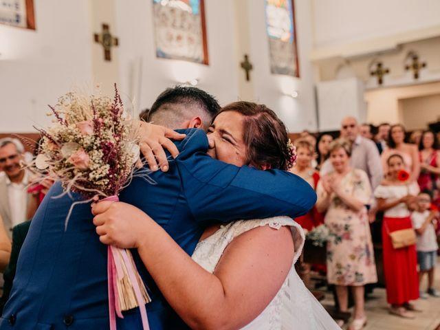 La boda de Adrián y María en Ballesteros De Calatrava, Ciudad Real 69