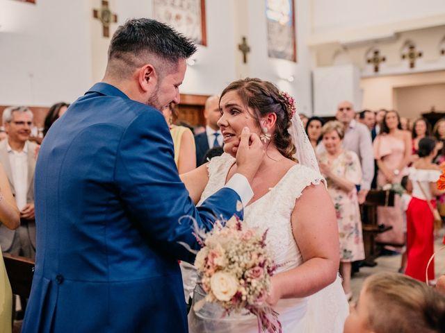 La boda de Adrián y María en Ballesteros De Calatrava, Ciudad Real 70