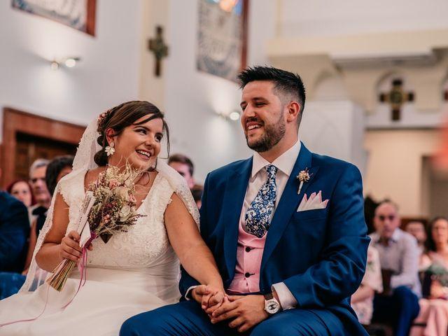 La boda de Adrián y María en Ballesteros De Calatrava, Ciudad Real 72