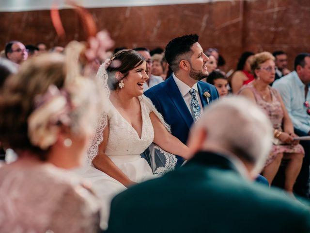 La boda de Adrián y María en Ballesteros De Calatrava, Ciudad Real 78
