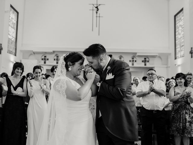 La boda de Adrián y María en Ballesteros De Calatrava, Ciudad Real 80