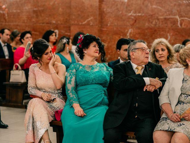 La boda de Adrián y María en Ballesteros De Calatrava, Ciudad Real 81