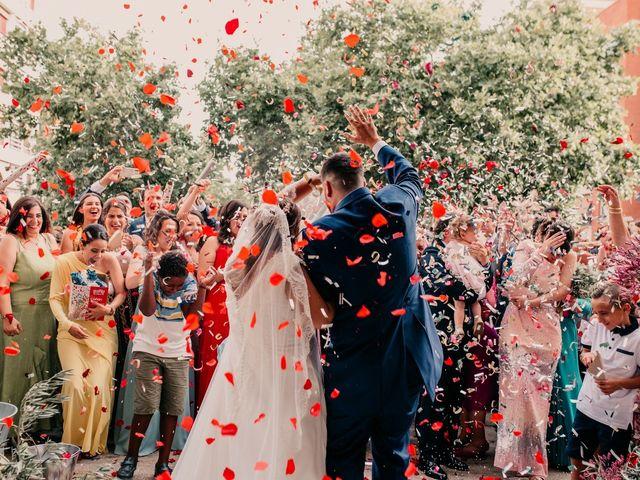 La boda de Adrián y María en Ballesteros De Calatrava, Ciudad Real 84