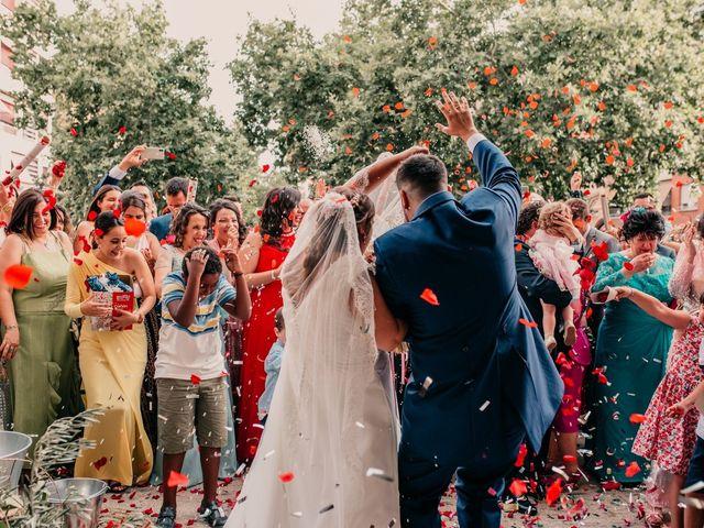 La boda de Adrián y María en Ballesteros De Calatrava, Ciudad Real 85