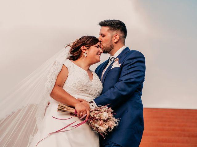 La boda de Adrián y María en Ballesteros De Calatrava, Ciudad Real 88