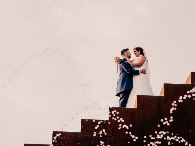 La boda de Adrián y María en Ballesteros De Calatrava, Ciudad Real 89