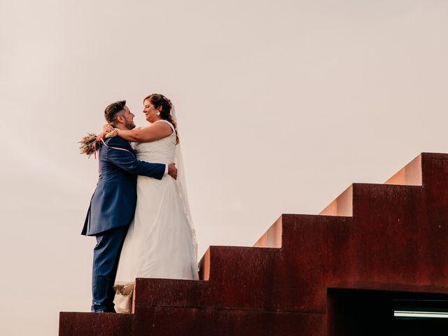 La boda de Adrián y María en Ballesteros De Calatrava, Ciudad Real 91