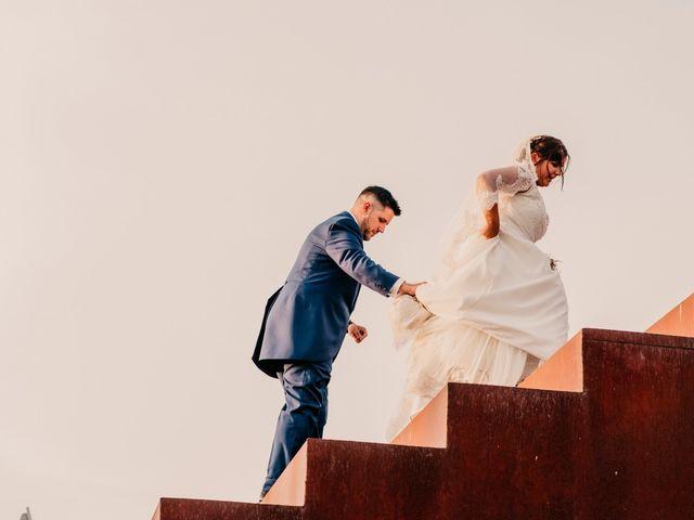 La boda de Adrián y María en Ballesteros De Calatrava, Ciudad Real 92