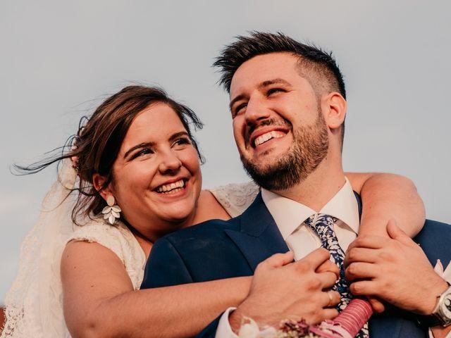 La boda de Adrián y María en Ballesteros De Calatrava, Ciudad Real 93