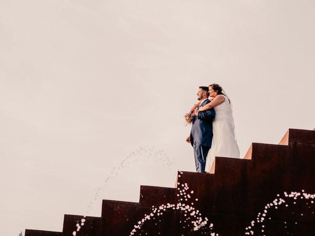 La boda de Adrián y María en Ballesteros De Calatrava, Ciudad Real 95
