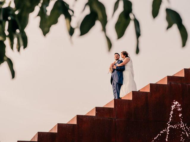 La boda de Adrián y María en Ballesteros De Calatrava, Ciudad Real 96