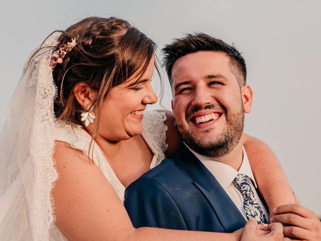 La boda de Adrián y María en Ballesteros De Calatrava, Ciudad Real 98