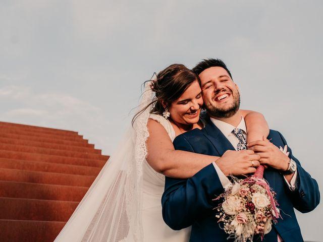 La boda de Adrián y María en Ballesteros De Calatrava, Ciudad Real 99