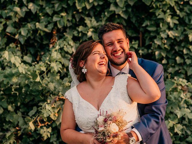 La boda de Adrián y María en Ballesteros De Calatrava, Ciudad Real 1