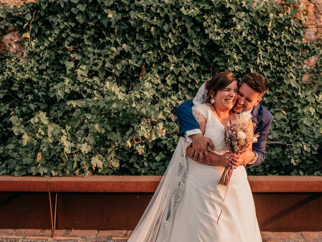La boda de Adrián y María en Ballesteros De Calatrava, Ciudad Real 101