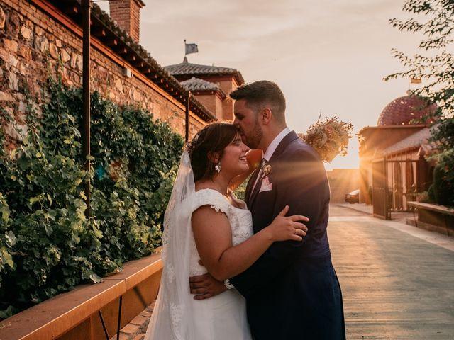 La boda de Adrián y María en Ballesteros De Calatrava, Ciudad Real 104