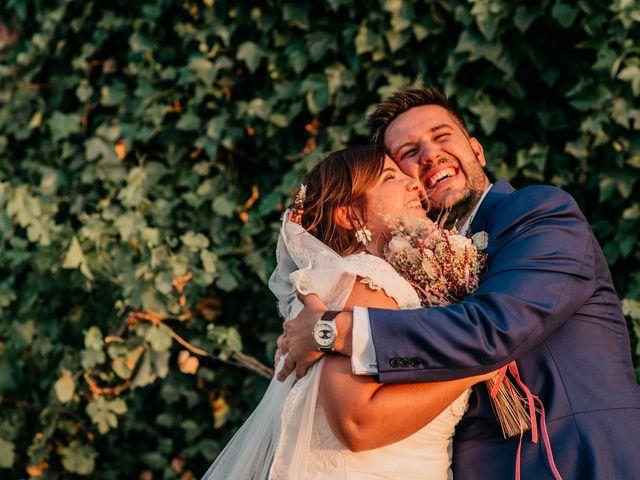 La boda de Adrián y María en Ballesteros De Calatrava, Ciudad Real 105
