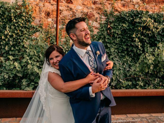 La boda de Adrián y María en Ballesteros De Calatrava, Ciudad Real 106
