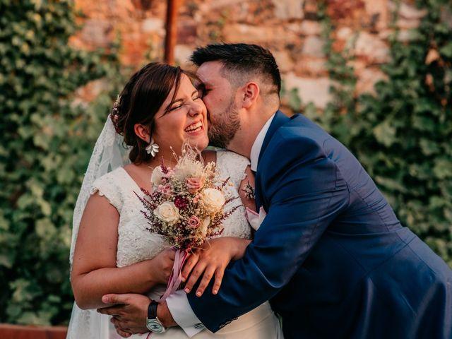 La boda de Adrián y María en Ballesteros De Calatrava, Ciudad Real 107