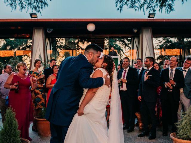 La boda de Adrián y María en Ballesteros De Calatrava, Ciudad Real 108