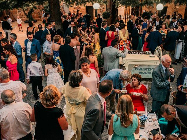La boda de Adrián y María en Ballesteros De Calatrava, Ciudad Real 109
