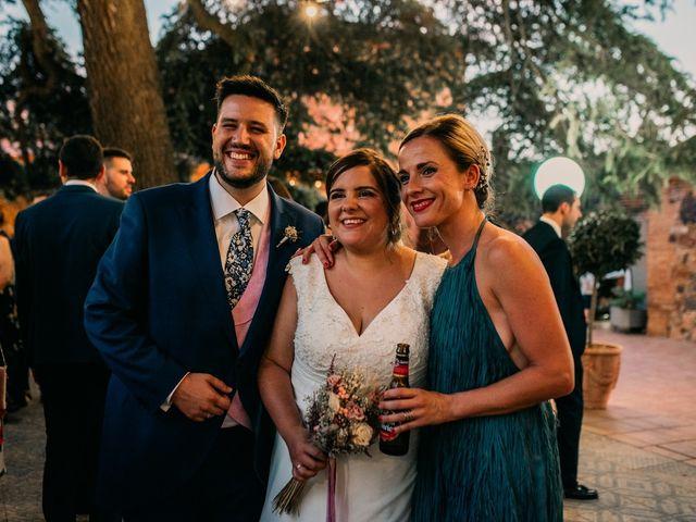 La boda de Adrián y María en Ballesteros De Calatrava, Ciudad Real 116
