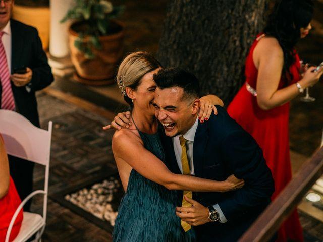 La boda de Adrián y María en Ballesteros De Calatrava, Ciudad Real 118