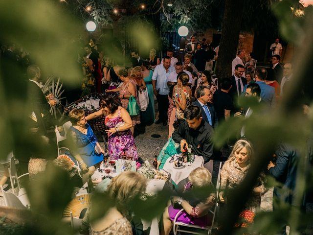 La boda de Adrián y María en Ballesteros De Calatrava, Ciudad Real 119