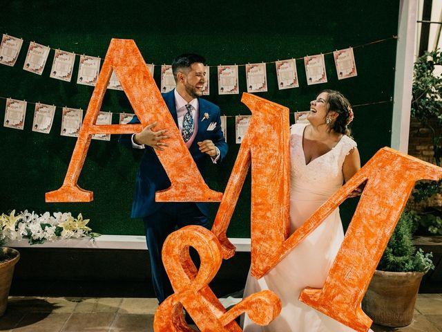 La boda de Adrián y María en Ballesteros De Calatrava, Ciudad Real 122