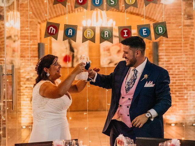 La boda de Adrián y María en Ballesteros De Calatrava, Ciudad Real 123