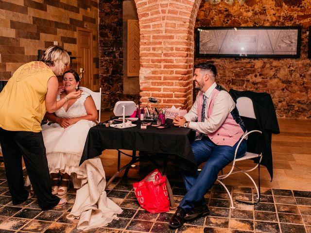 La boda de Adrián y María en Ballesteros De Calatrava, Ciudad Real 129