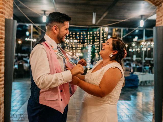 La boda de Adrián y María en Ballesteros De Calatrava, Ciudad Real 133