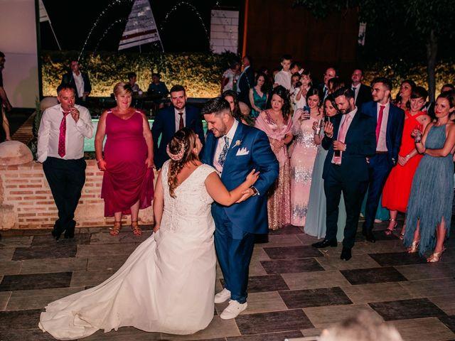 La boda de Adrián y María en Ballesteros De Calatrava, Ciudad Real 135